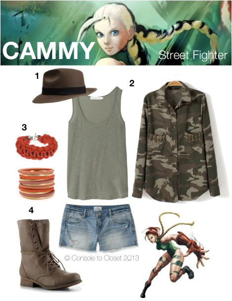 Inspired by Cammy from Street Fighter