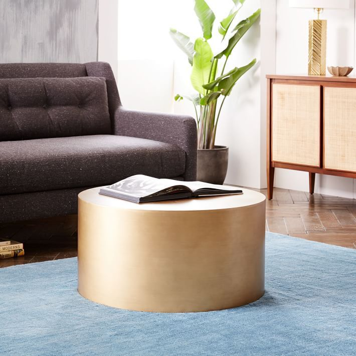 The Ultimate Kid Friendly Coffee Table Drum Coffee Table Living