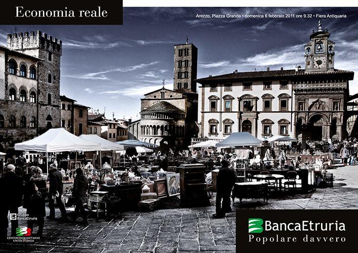 #Arezzo, Economia reale (2011).