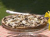 Another fav by Michael Chiarello.  Mushroom tart, it is well worth the time to make. Just wonderful!