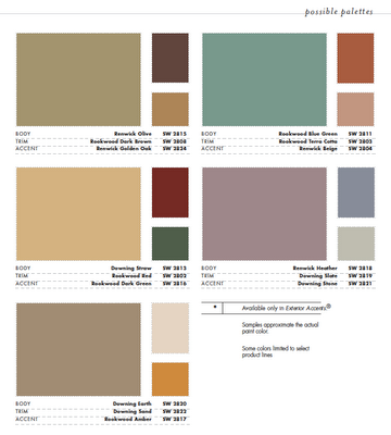 Victorian Color Schemes House Paint Color Combination Exterior