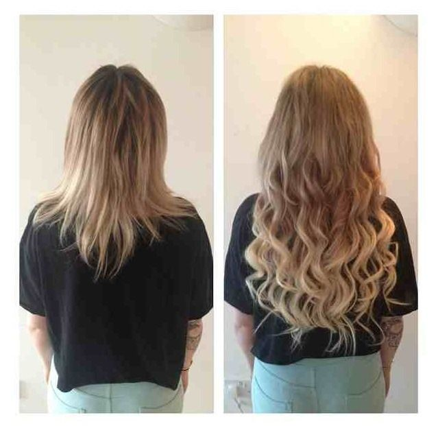 Invisablend is a method of adding hair between the existing hair 4 bundleslot total malaysian hair body wave good quality malaysian hair extensions length inch can be dyed pmusecretfo Images