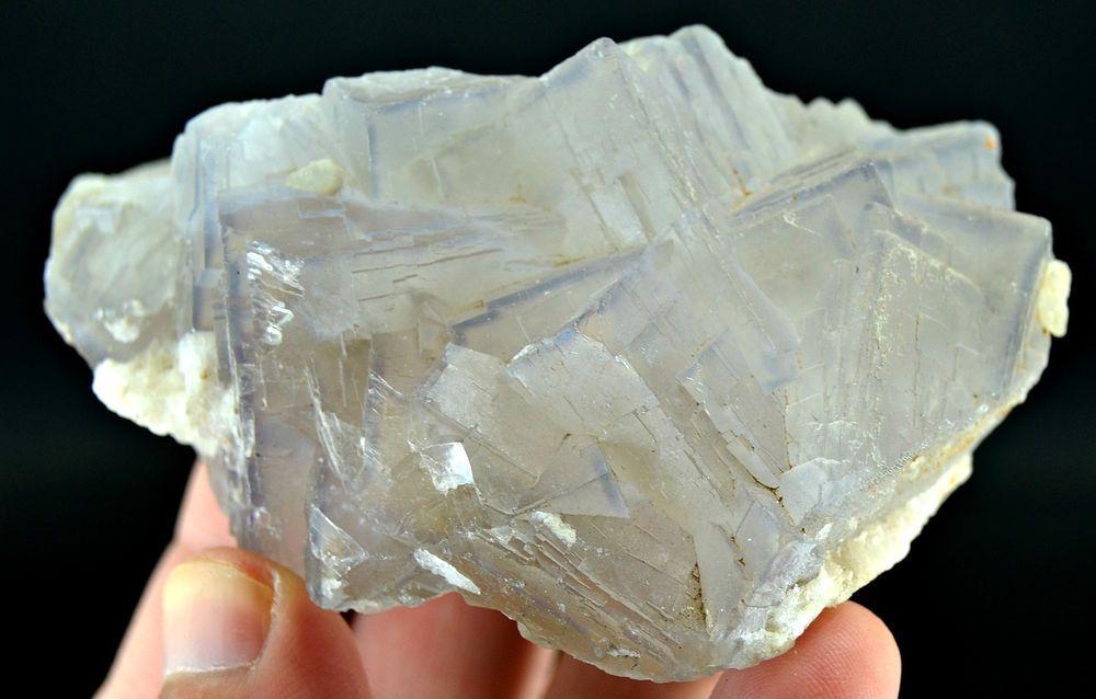 257 Grams Top Quality Light Blue Color & Color Change Fluorite Specimen From PAK
