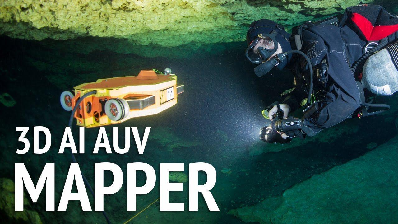 Sunfish 3D AI Mapper with Data Stream