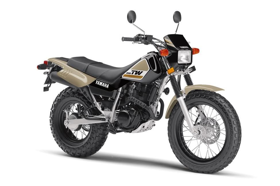 2020 Yamaha TW200 Dual Sport Motorcycle Model Home