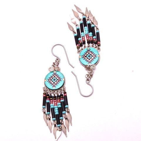 Lima Tribal Earrings