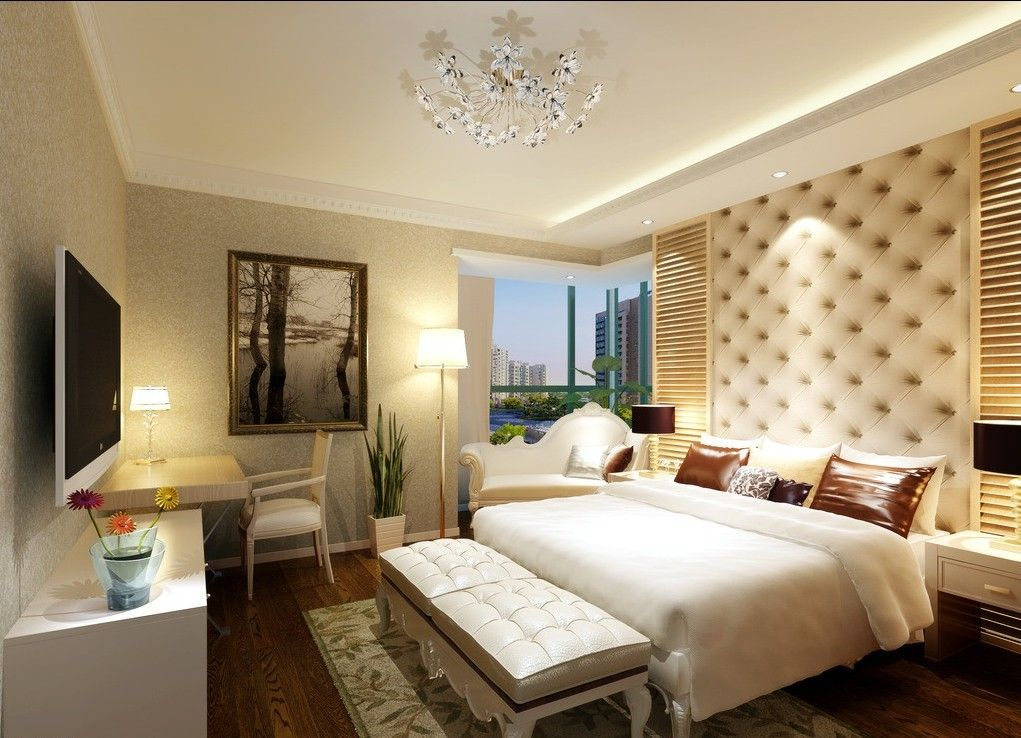 Hotel room design ideas hotel room design 3d house for Apartment bedroom decoration