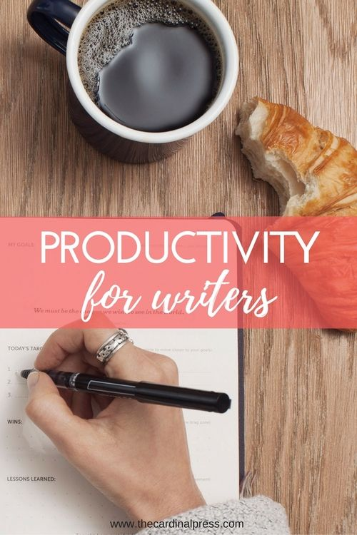 Productivity for Writers — The Cardinal Press