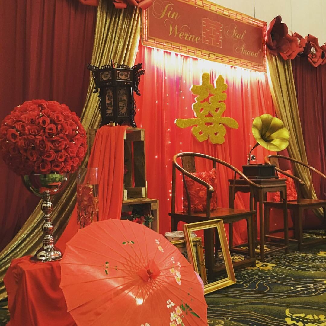 Chinese Oriental Themed Wedding