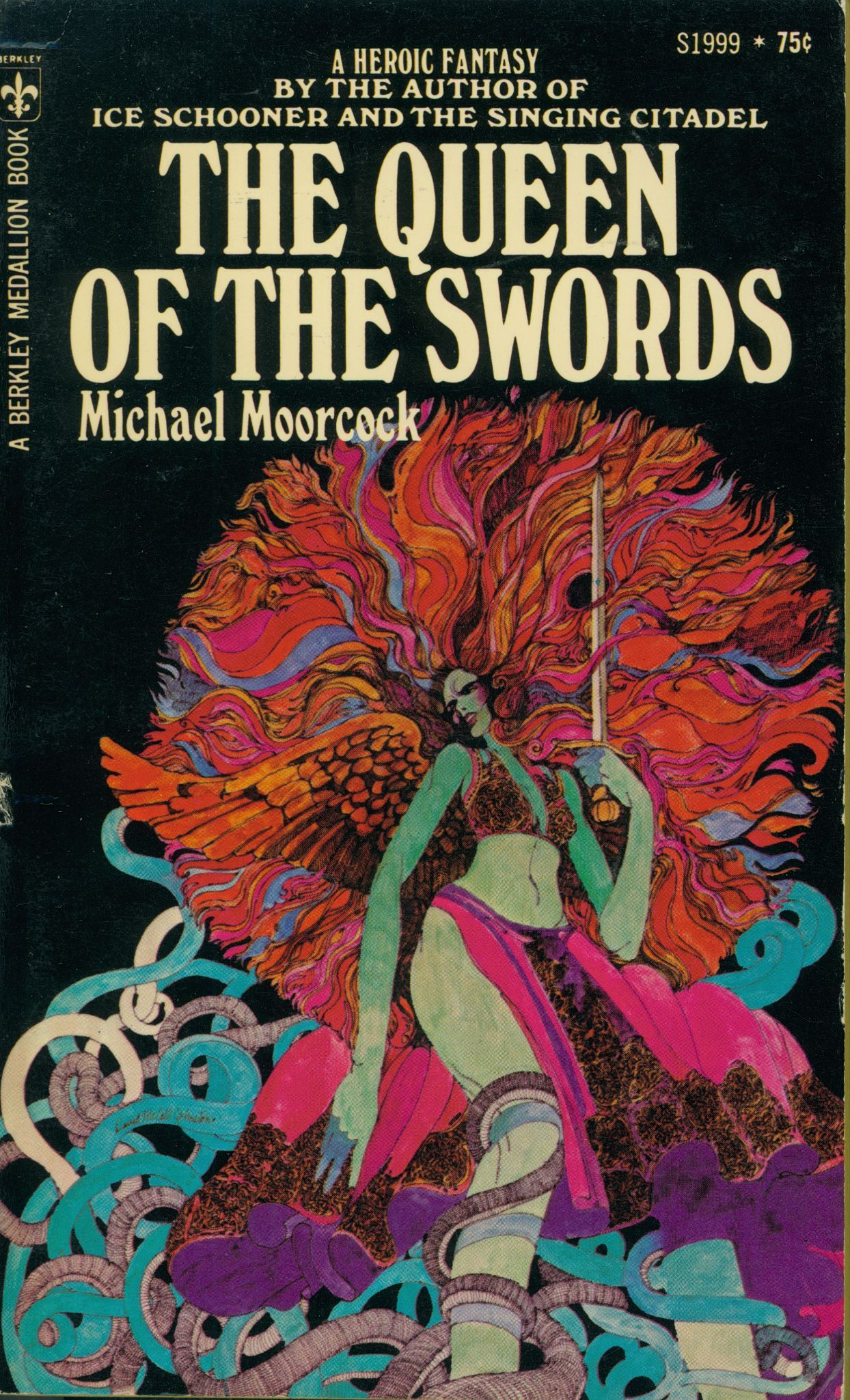 Cool Book Cover Queen : The queen of swords by michael moorcock books