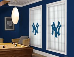 new york yankee shades every mlb team available - New York Yankees Bedroom Decor