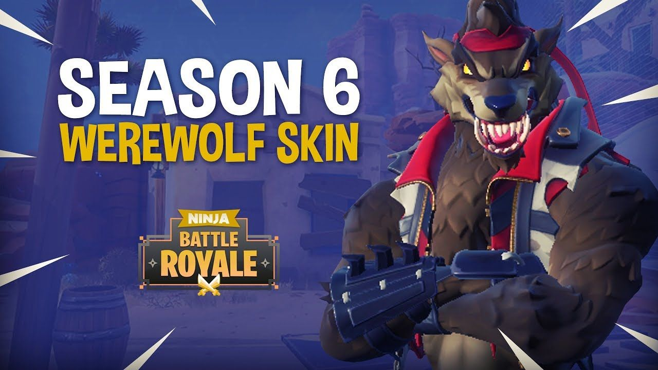 The Season 6 Werewolf Skin Fortnite Battle Royale Gameplay
