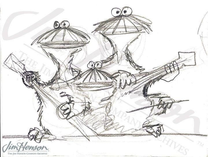 Jim Henson Sketches