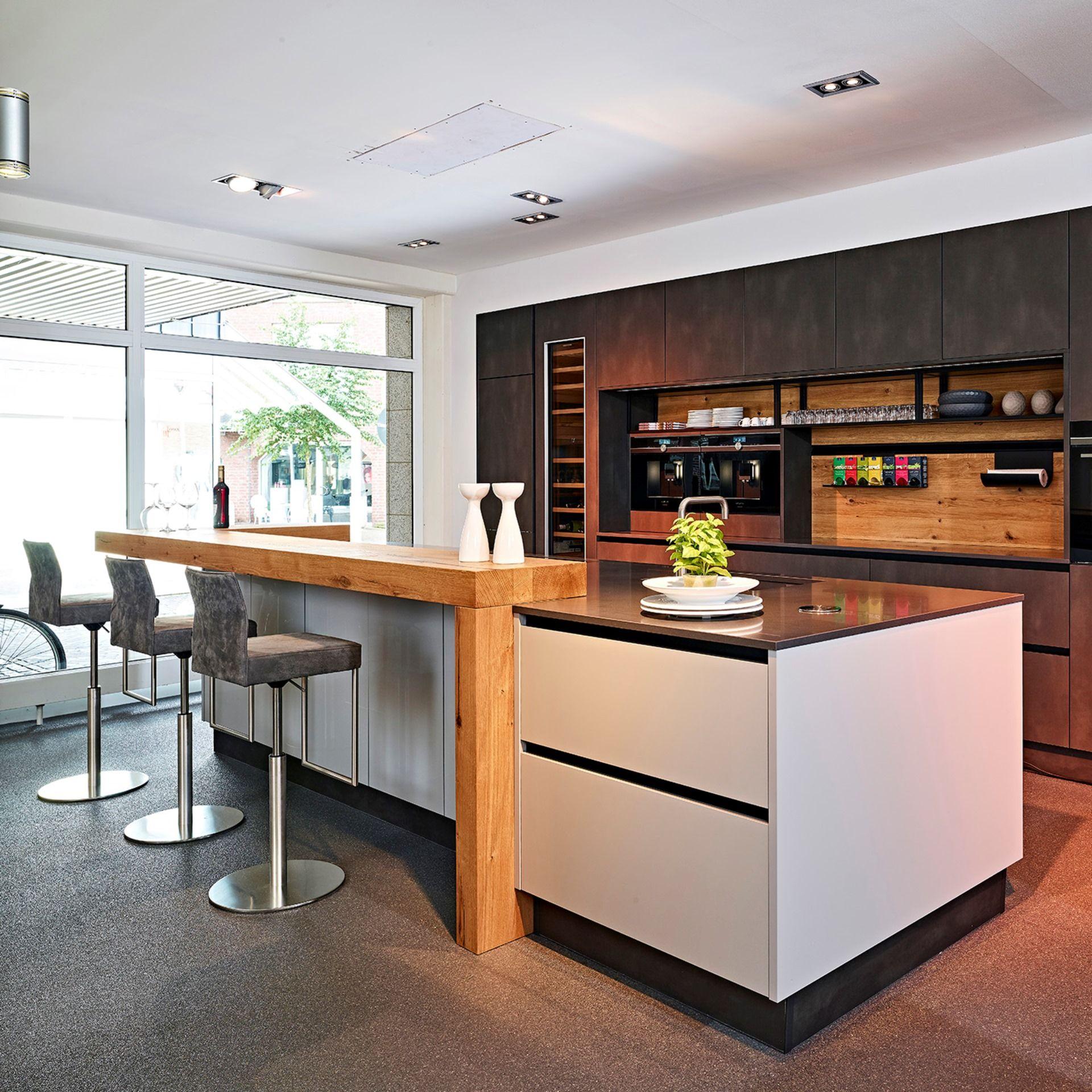 Contur Inselküche  Inselküche, Haus küchen, Landhausküche