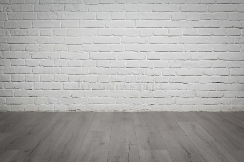 Old White Brick Wall And Wood Floor Background Old White Brick Wall And Grey Wo Ad Wall Brick White Wood White Brick Walls White Brick Brick Wall