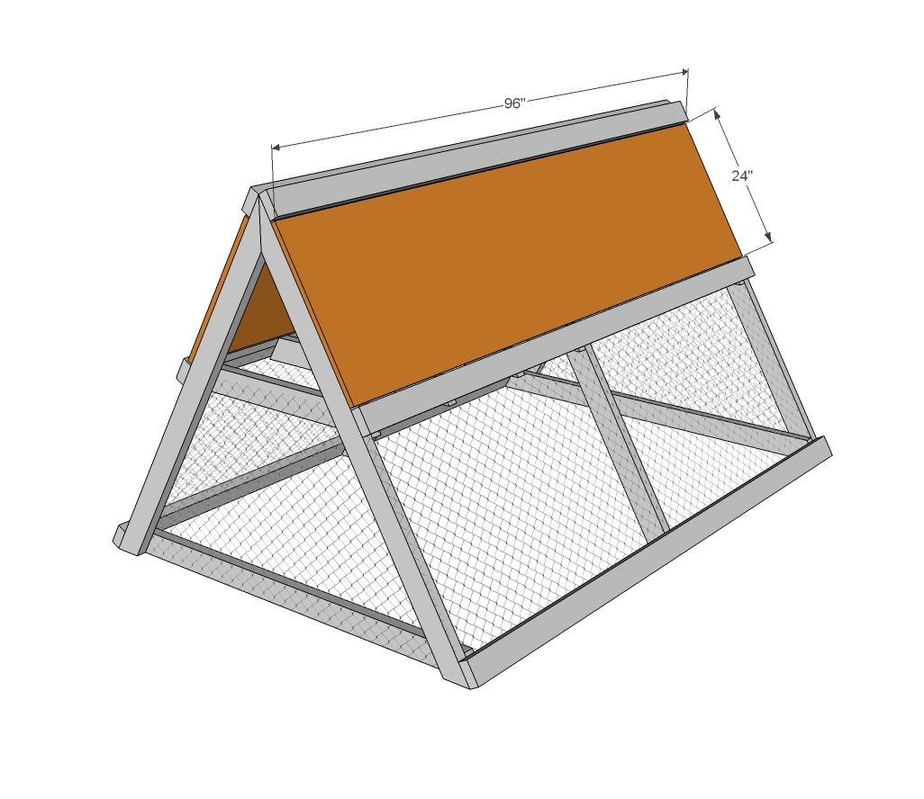 Ana White | Build a A Frame Chicken Coop | Free and Easy DIY Project ...