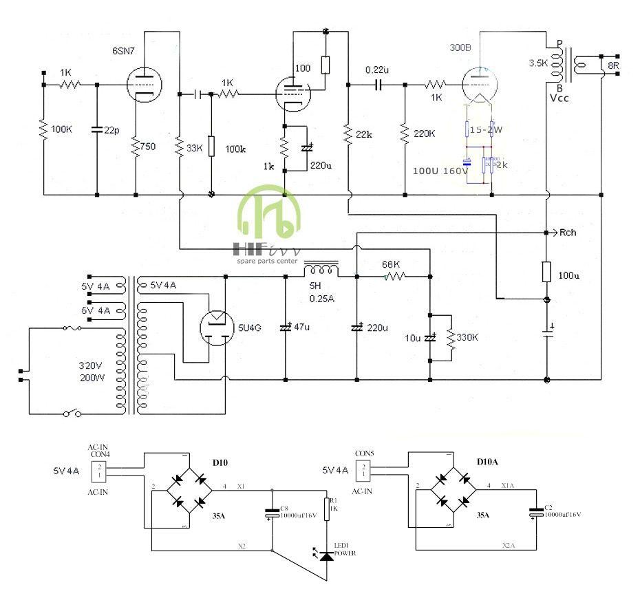 20.20US $ 20 OFF HIFI tube amplifier 20B tube amp amplifier kits ...