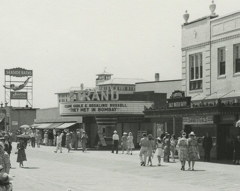 Ocean City Boardwalk, 1941