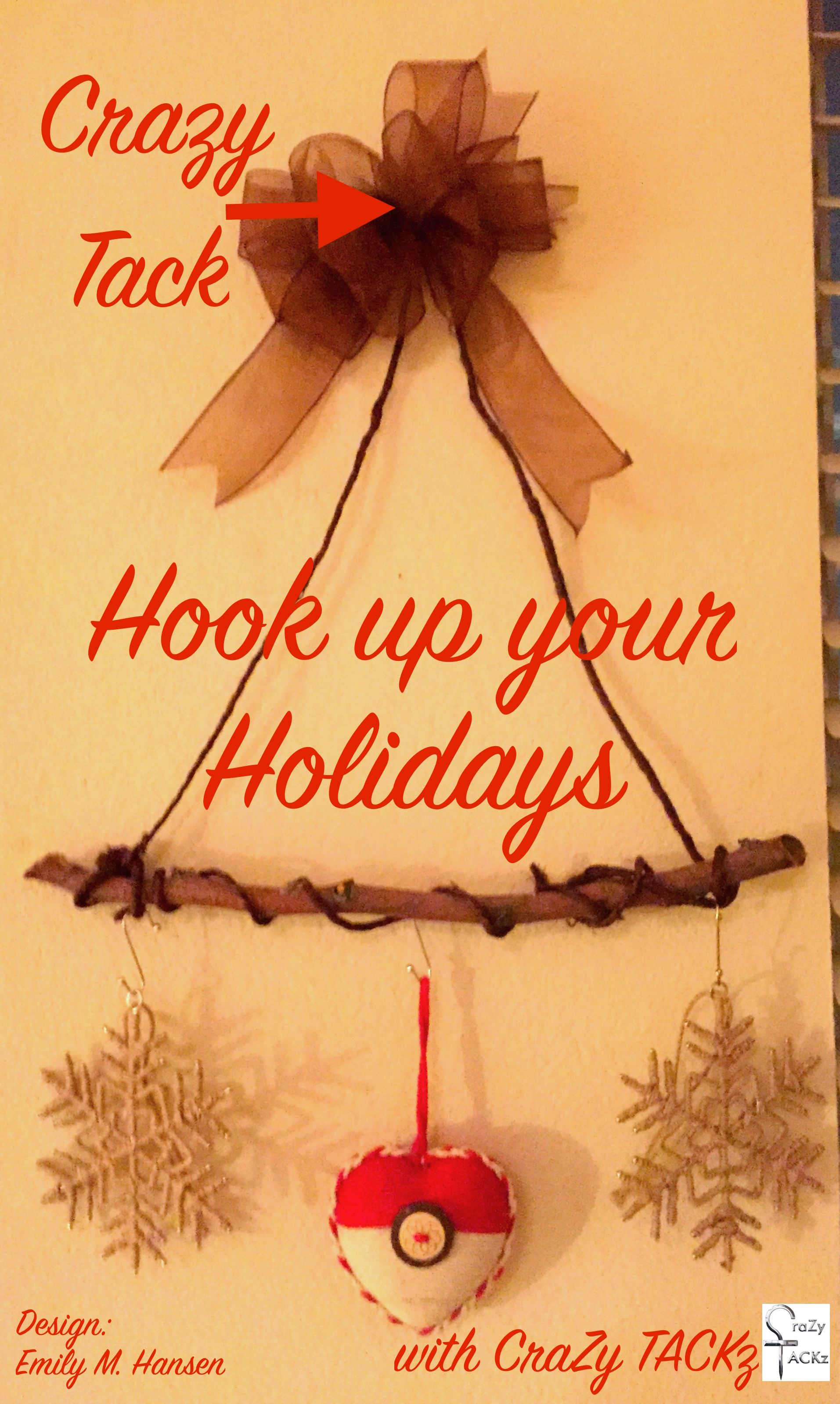 Hook up your holiday decorations with CraZy TACKz, the TACK with a ...