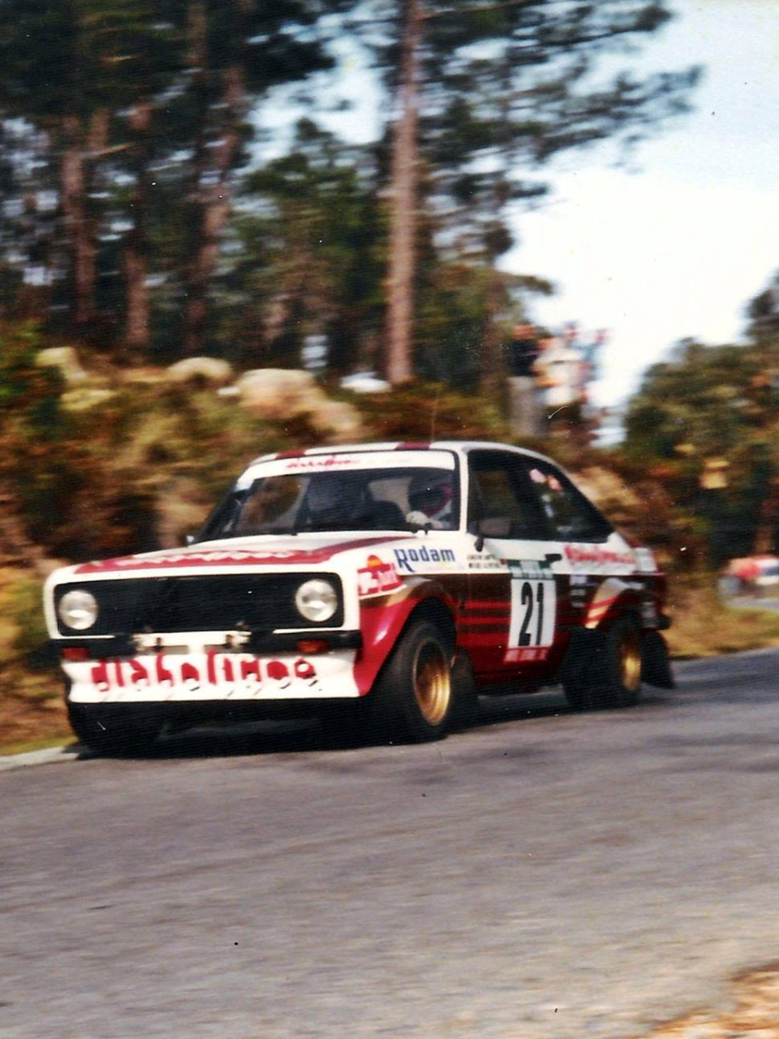 Joaquim Santos Rally Coches Drag