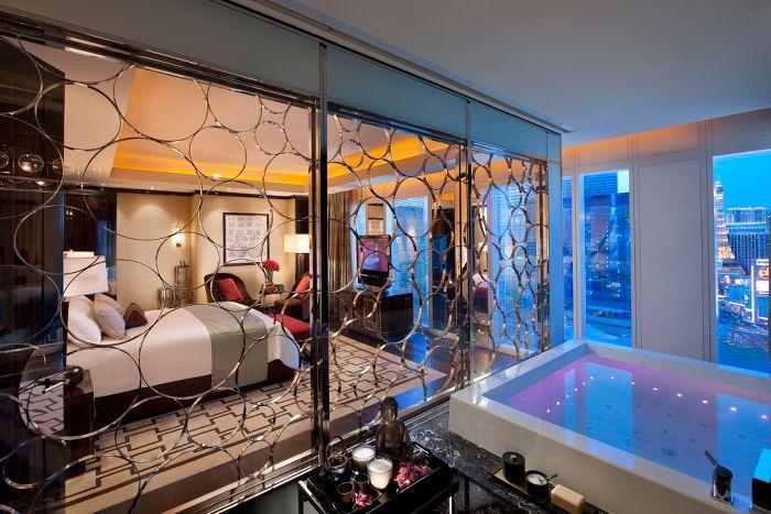 Mandarin 5 Star Las Vegas Suite Mandarin Oriental Las Vegas Las Vegas Suites Vegas Suites Vegas Hotel Rooms