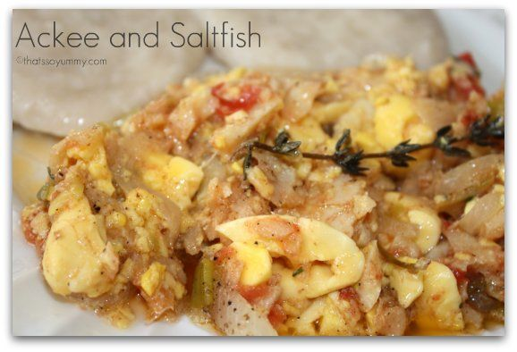 how to cook ackee & saltfish