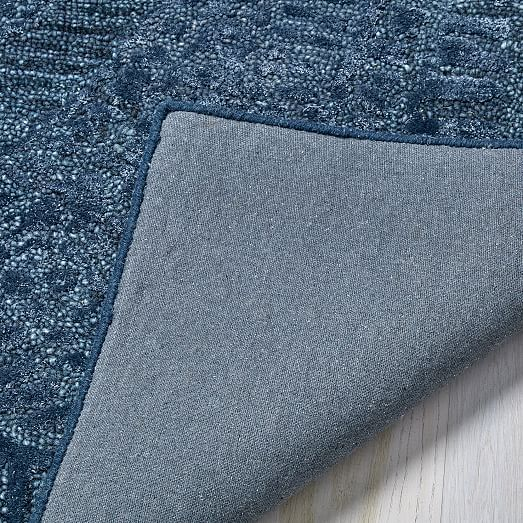 Maze Rug Shadow Blue 5 X8 At West Elm Rugs Home Decor