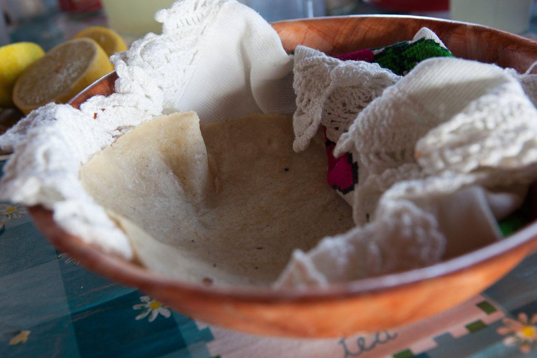 Fresh Tortillas at La Cocina de Doña Esthela | Valle de Guadalupe