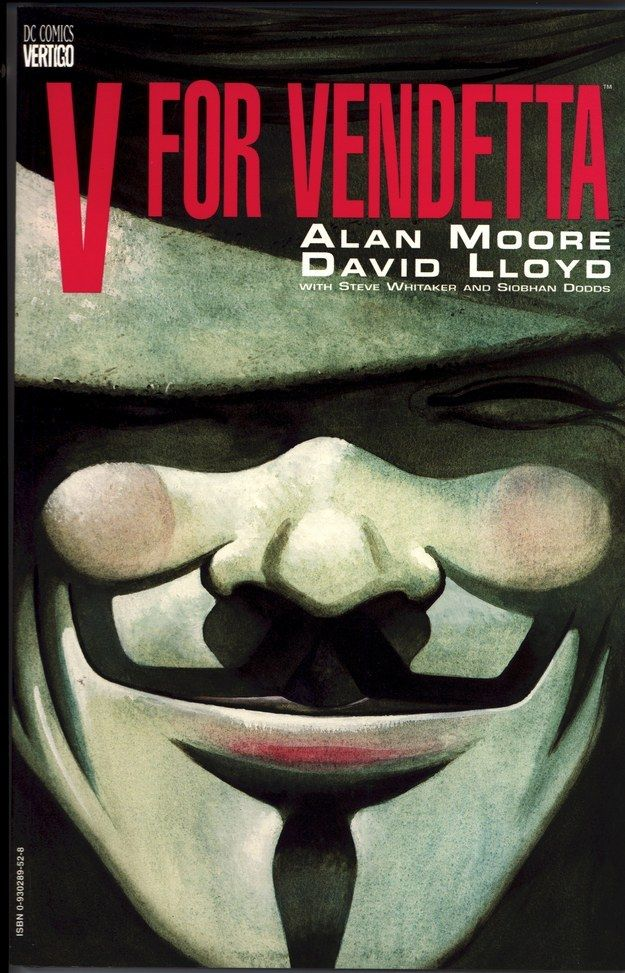 24 Of The Most Powerful Graphic Novels Graphic Novel V For Vendetta Book Graphic Novel Cover