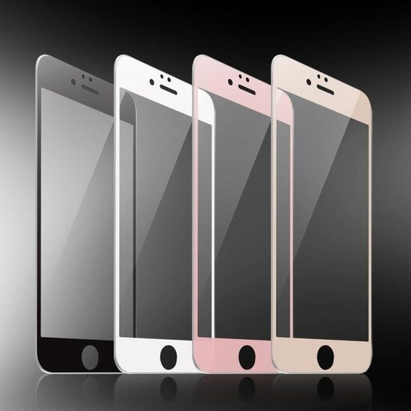 Full Cover Screen Protector Tempered Glass For Iphone X 6 6s Plus 6plus 6splus 7 8 Plus Toughened Glass Protective Explosion Proof Film Wish Iphone Screen Protector Iphone Iphone Protector
