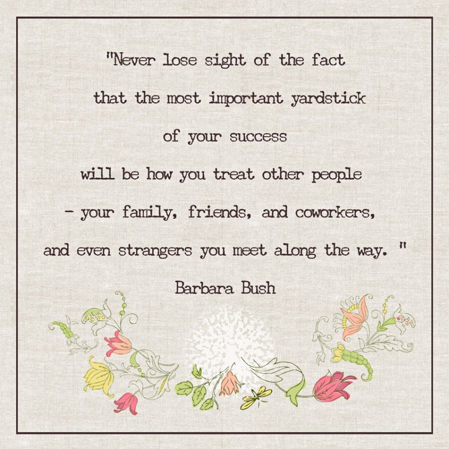 "♥ ""How you treat other people"" ♥ Links to a great message about Kindness and Cruelty ♥"