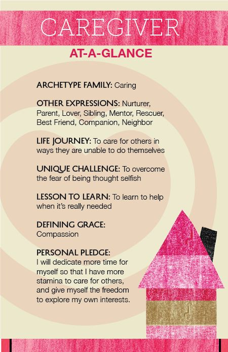 The Caregiver Archetype At A Glance Archetypes Archetypes Caregiver Brand Archetypes