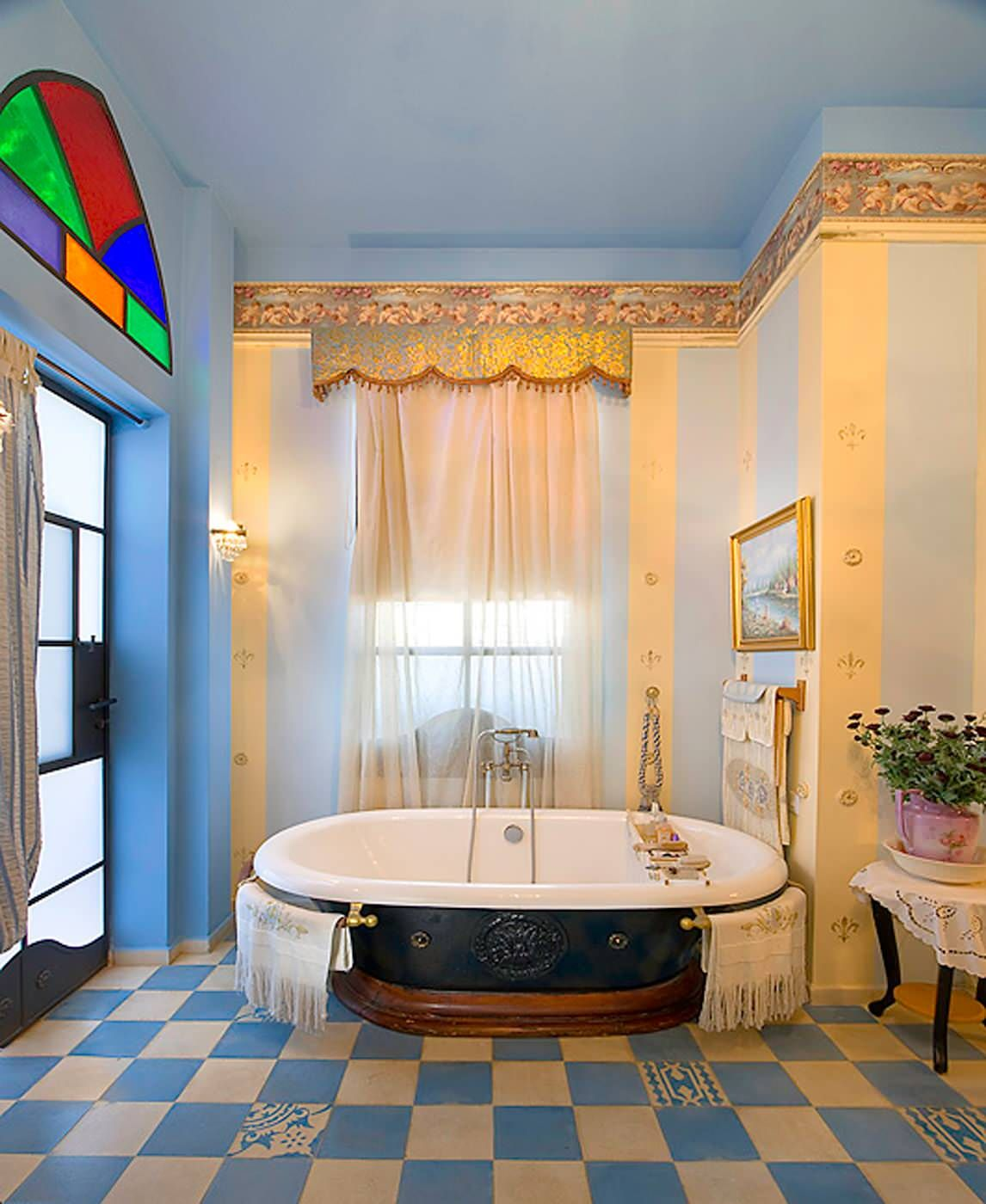 Can You Paint Vinyl Flooring in A Bathroom Eclectic