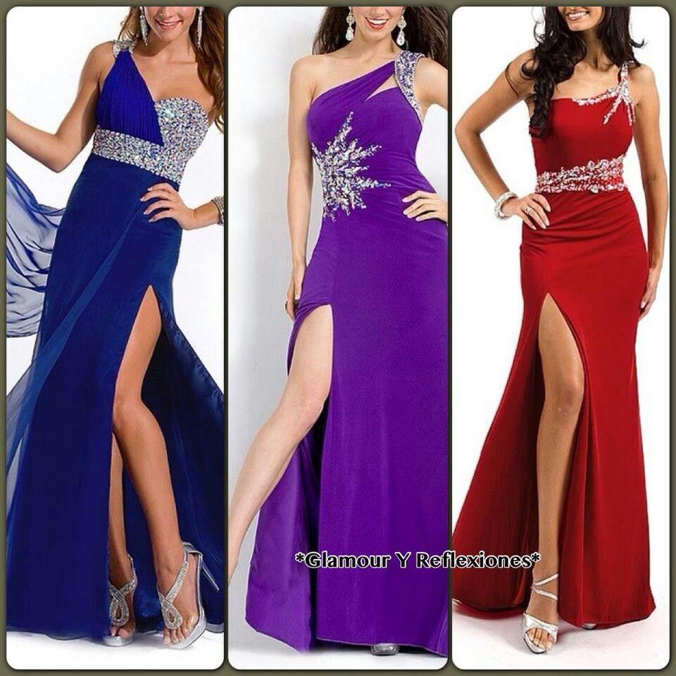 I jus want the 3 of them | Trajes largos | Pinterest | Trajes ...