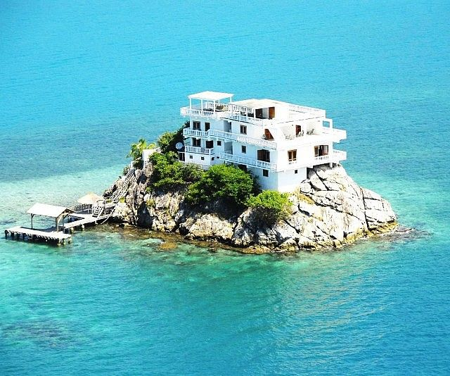 Villa On Dunbar Rock   Private island, Vacation, Pictures