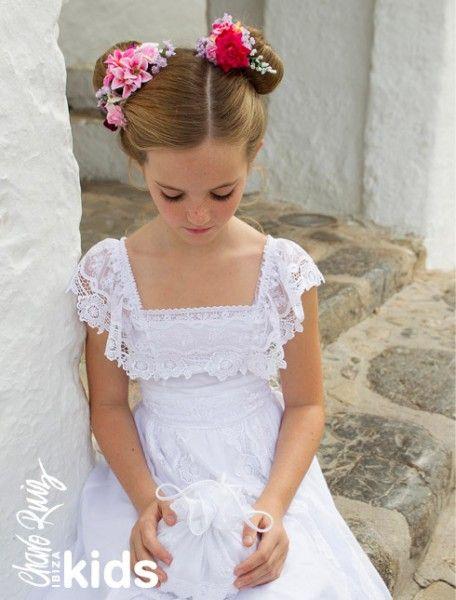 De la nota vestidos de comuni n al m s puro estilo ad lib - Ropa estilo ibicenco ...