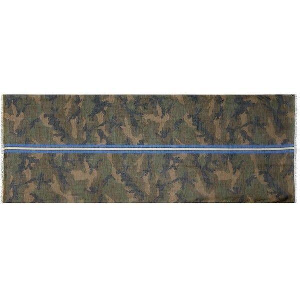 Valentino Garavani striped scarf - Green Valentino 2yqHdfyB