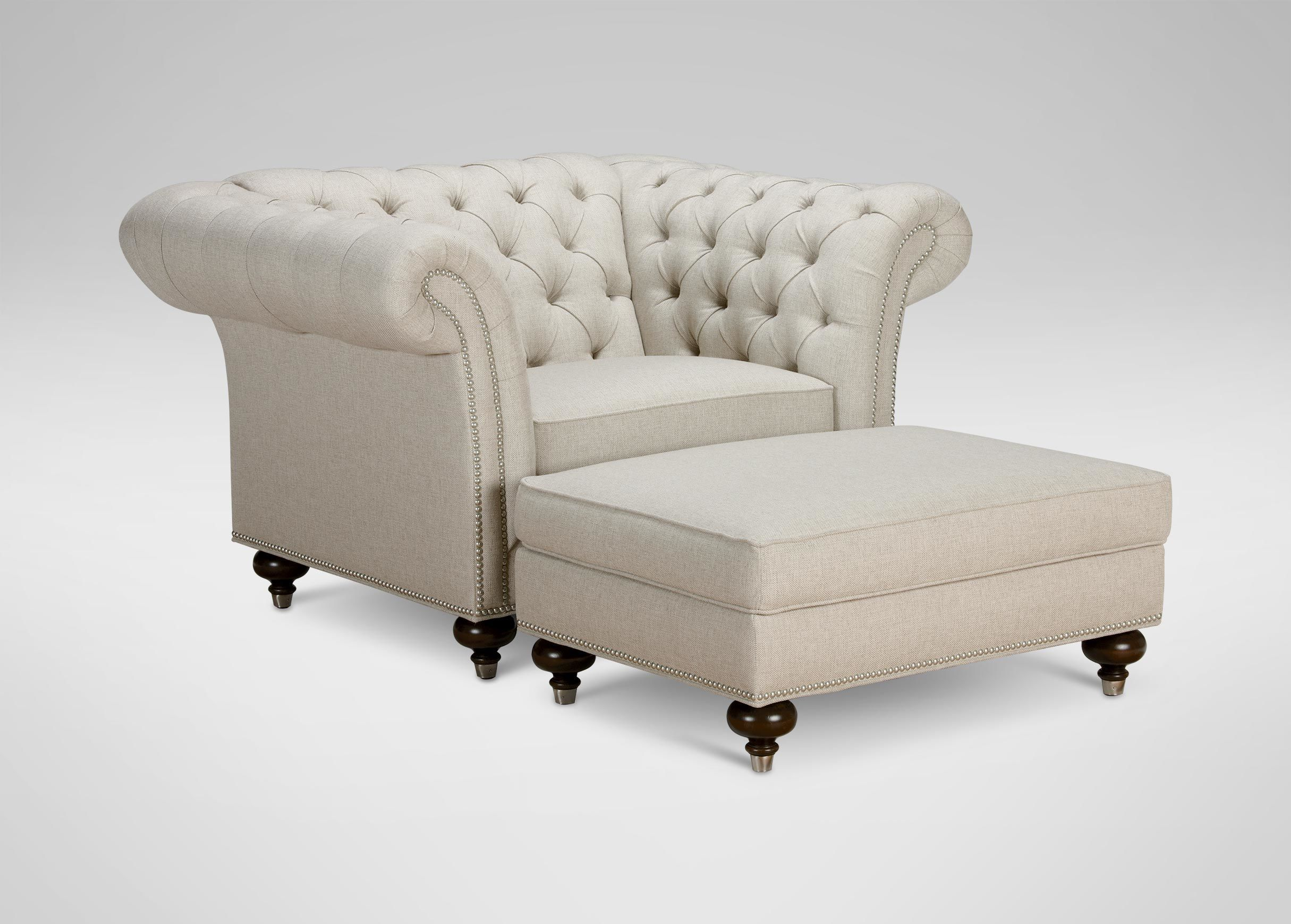 Sofa Covers Chester Koltuk ve Antik Beyaz Tu la
