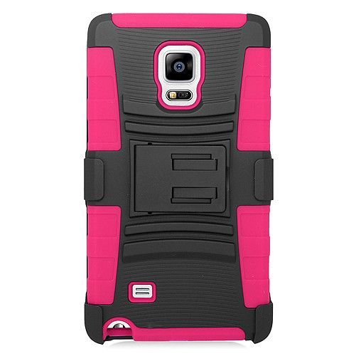 EGC Samsung Galaxy Note Edge Case Advanced Armor Holster - Pink