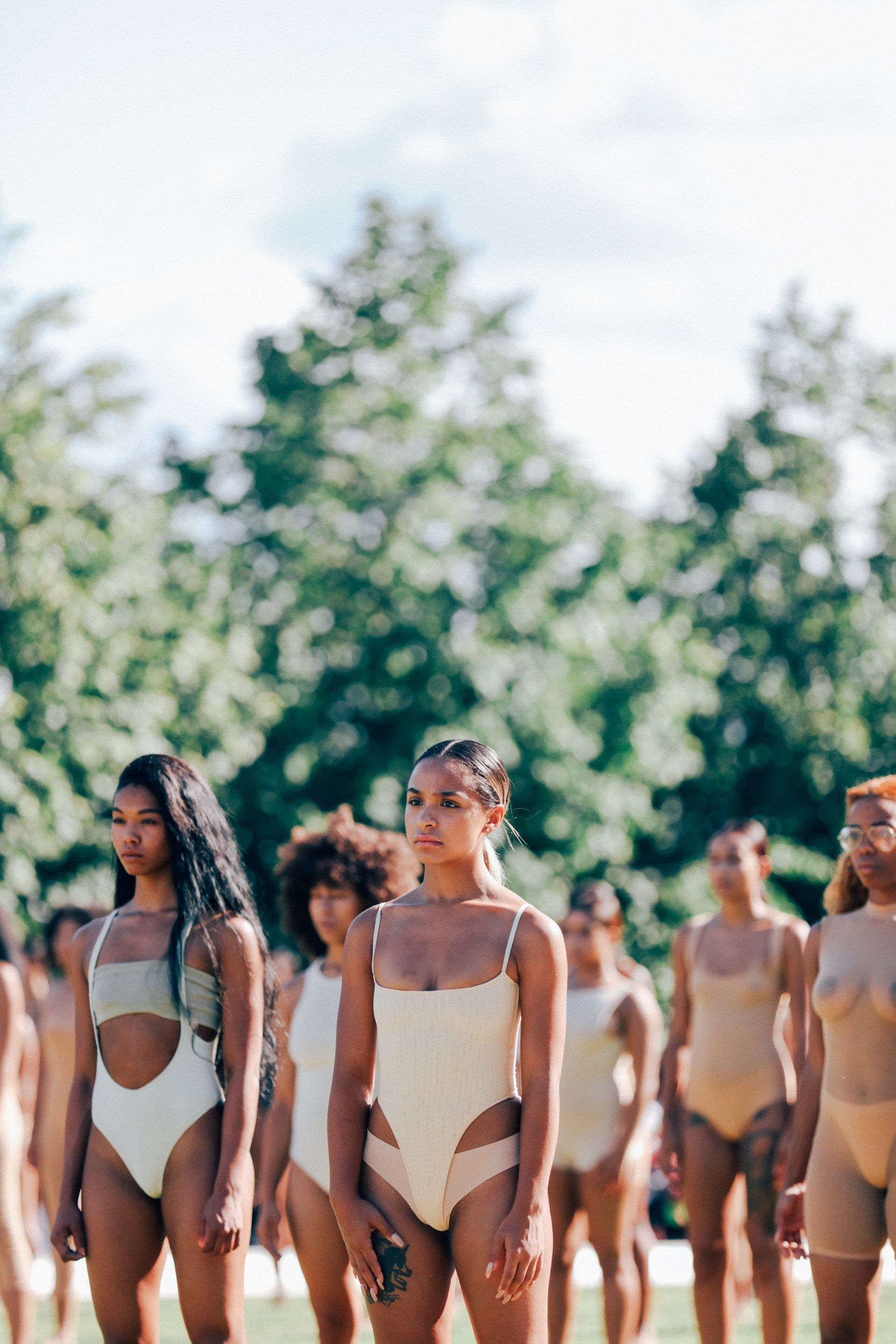 2d40046dd Yeezy Season 4  Exclusive Photos From the Fashion Show Everyone Is Talking  About