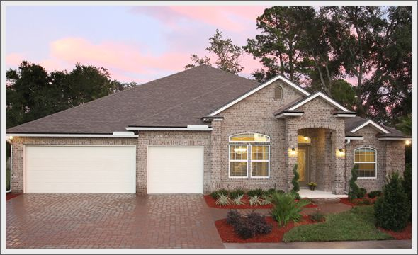 Beautiful Brick Homes Gated Community Beautiful All Brick Homes Ancient Oak Trees And Large Florida Home Model Homes House Styles