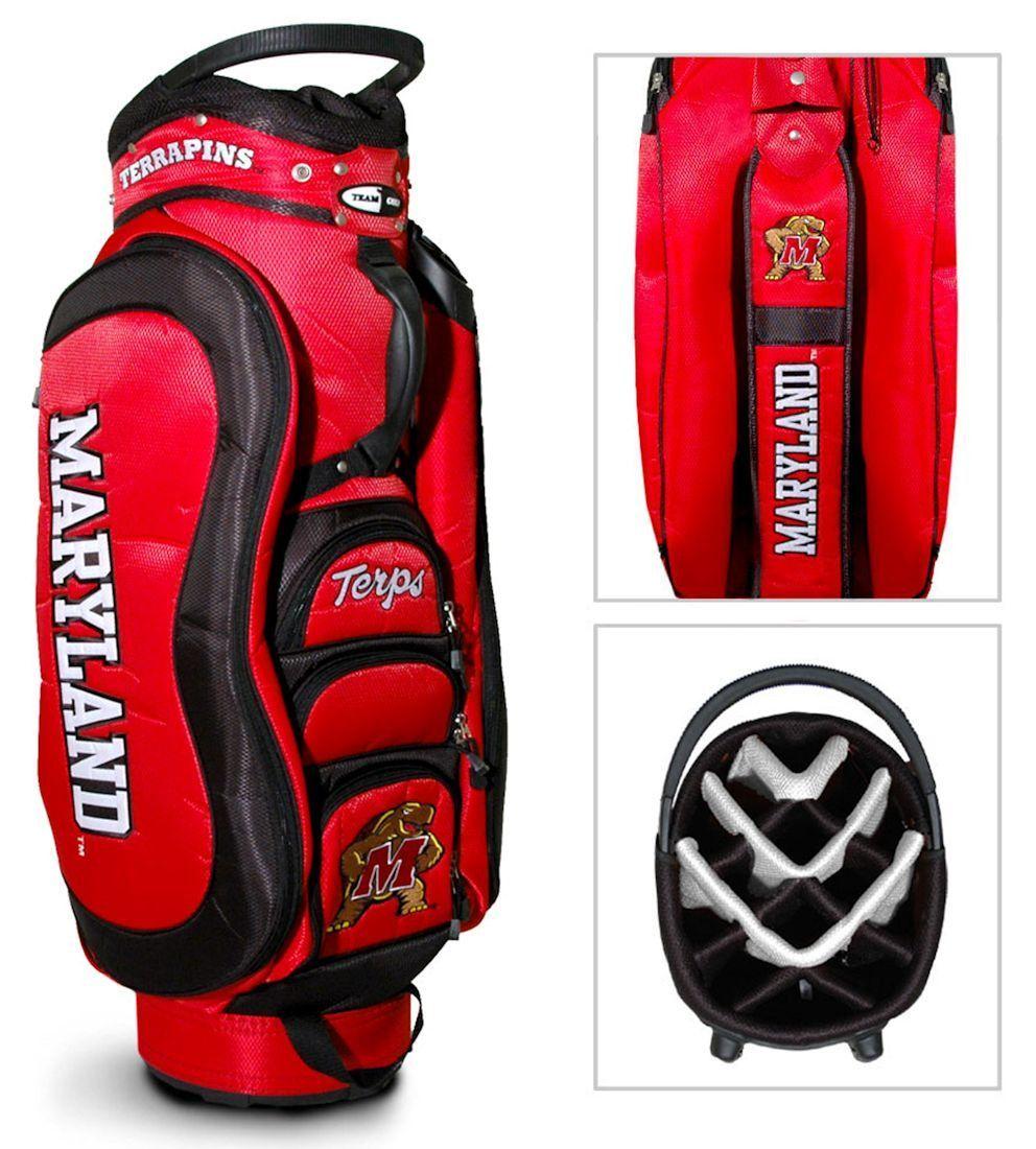 Maryland terrapins medalist golf cart bag golf bags