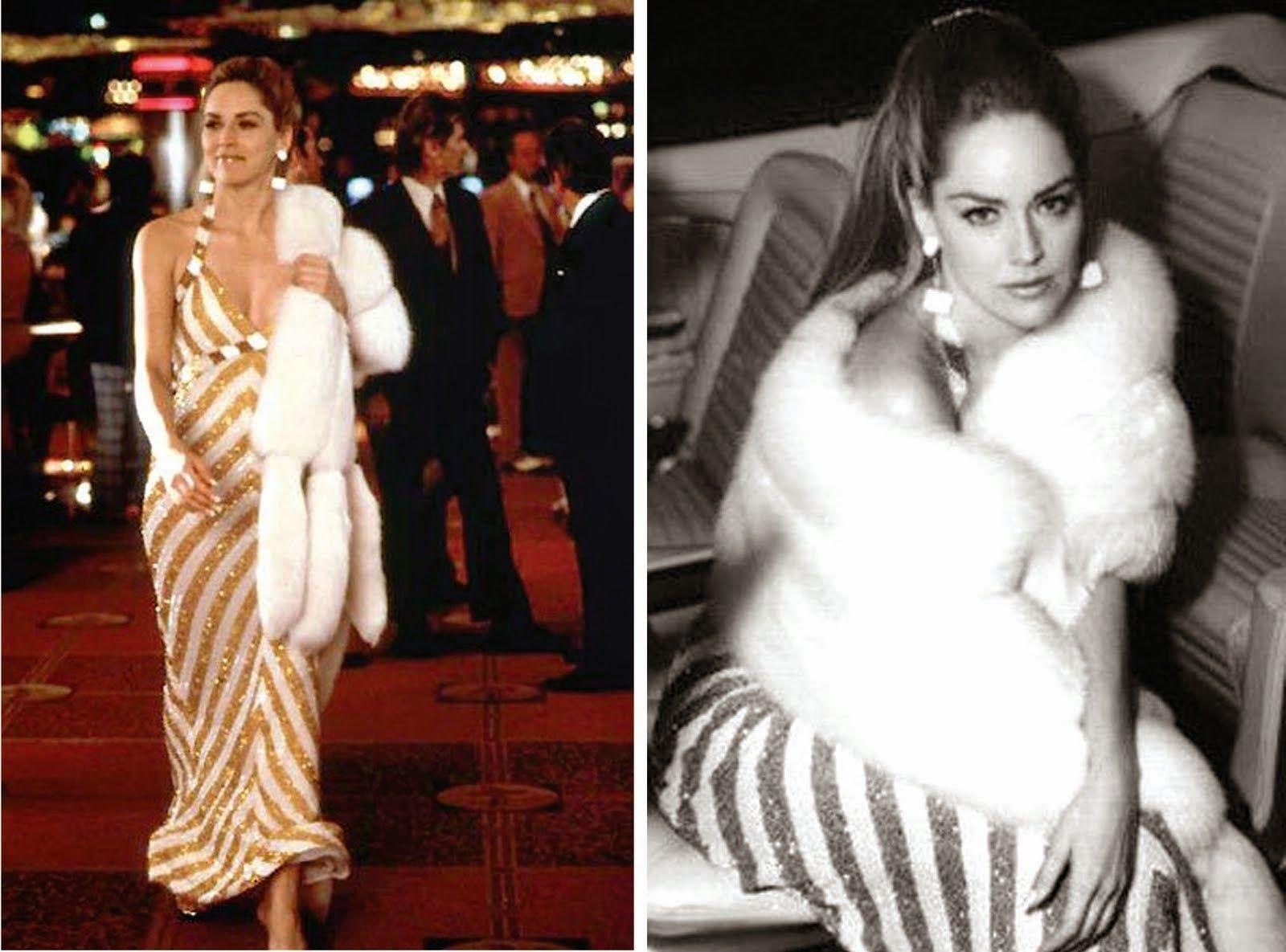 Sharon Stone Casino Costume