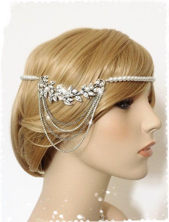 Art Deco Great Gatsby Inspired Headpiece Greek Goddess