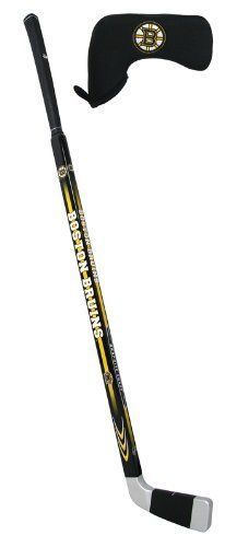 Nhl Boston Bruins Hockey Stick Putter By Hockey Stick Putters 117 99 Stitched Logo Head Cover 35 Inch Hand Golf Putters Boston Bruins Hockey Hockey Stick