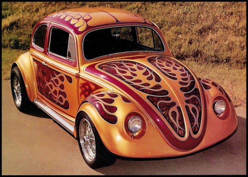 70's custom volkswagen bug