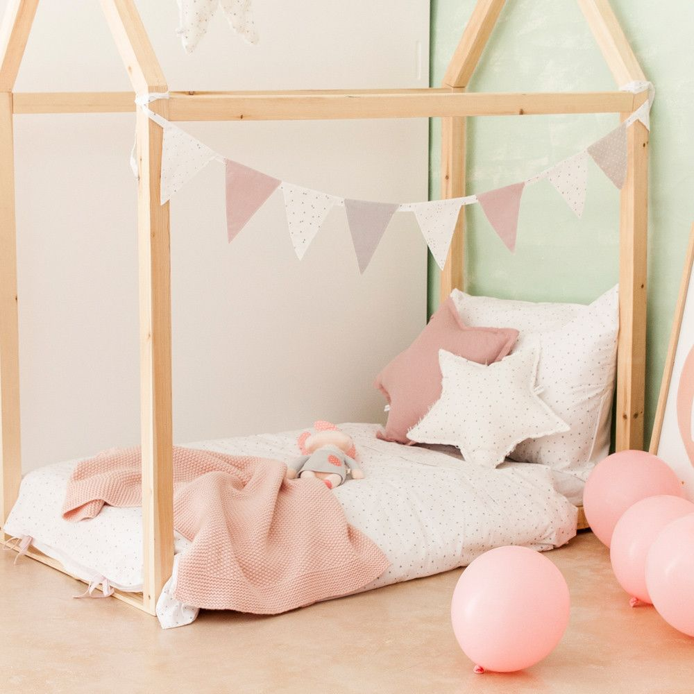 Cama Casita de Madera | Decoración Infantil_ kids Decor | Pinterest ...