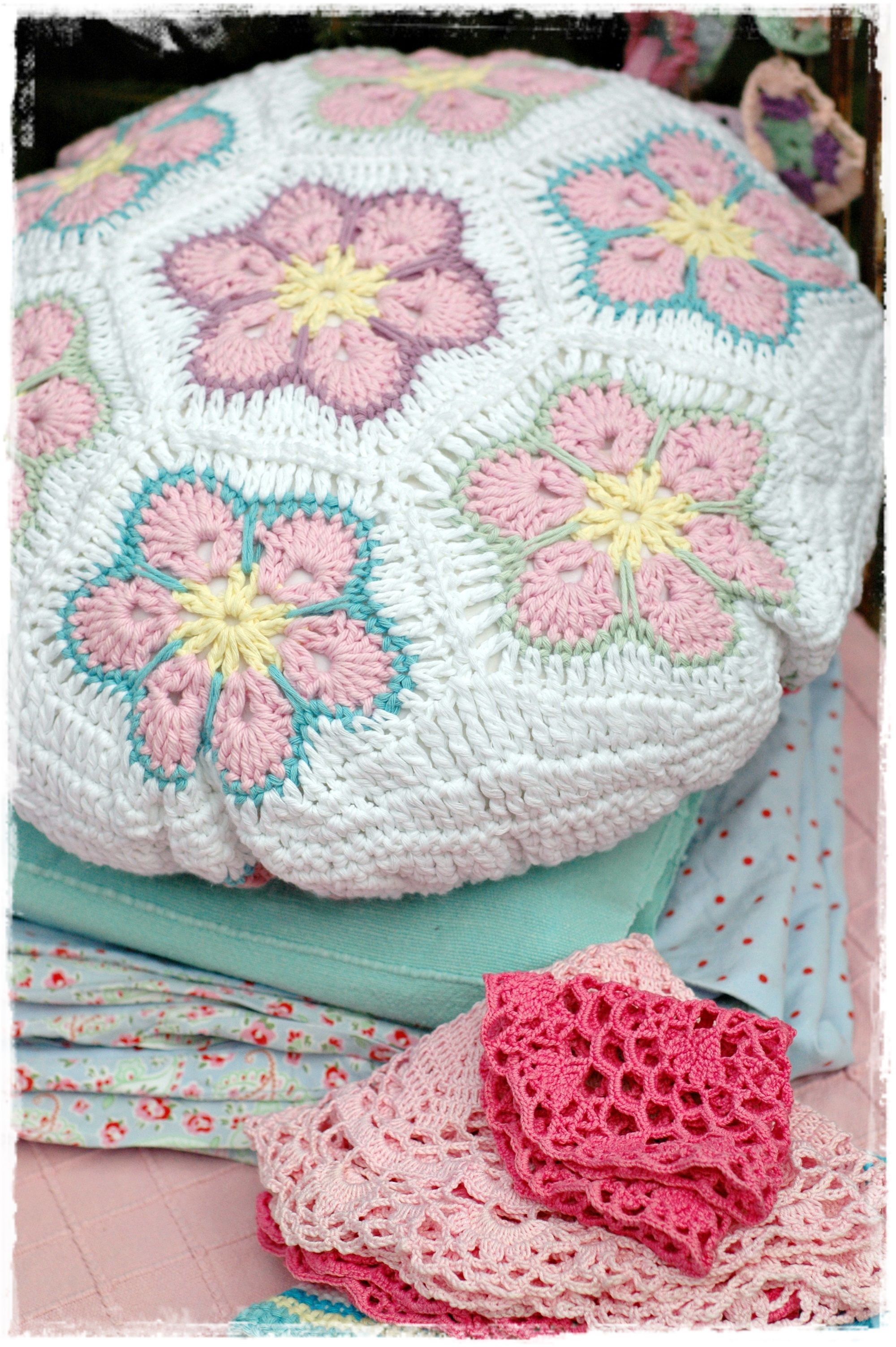 Como Hacer Cojines De Ganchillo Crochet African Flowers Pillow Crochet Cojines Pillows