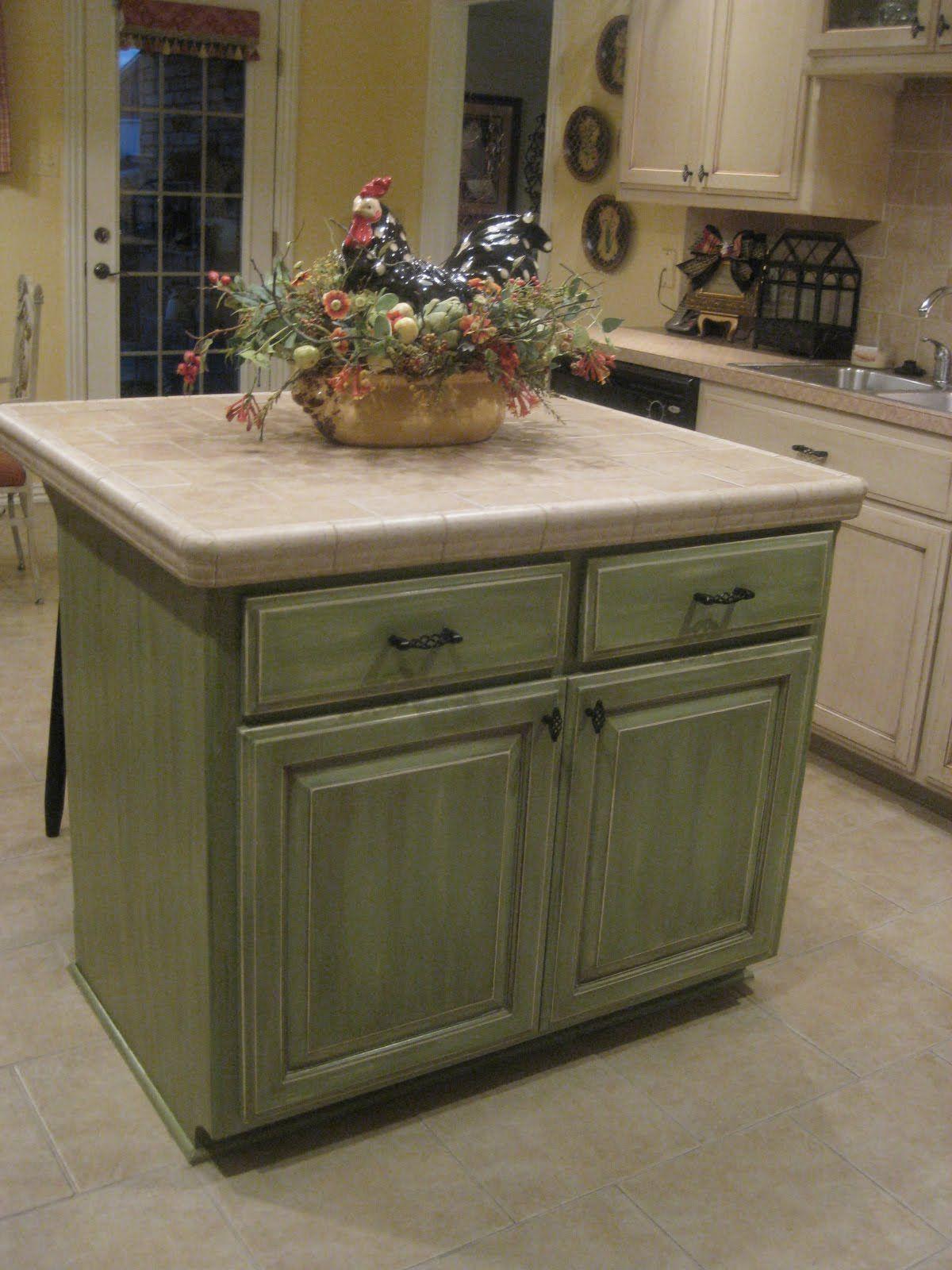 Glazed kitchen cabinets green kitchen cabinets pinterest