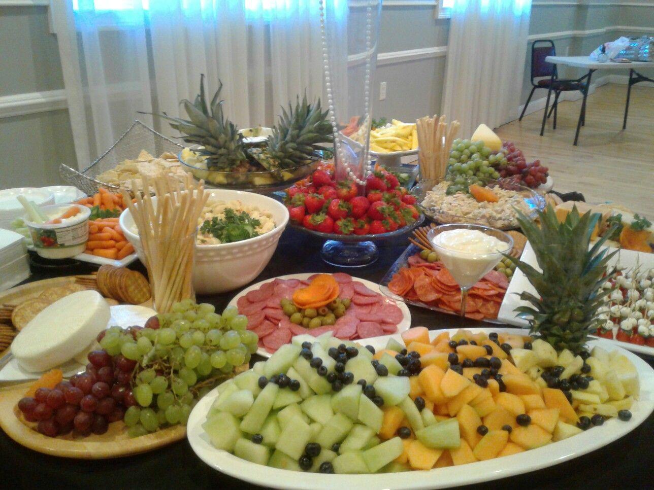 Frutas y quesos